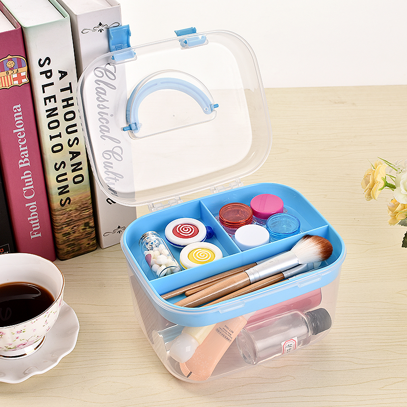 First aid box household multi-layer small medicine box package special increase medicine box household goods tools