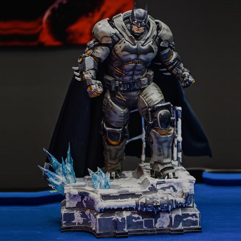 Hot GK customized Forrest Gump origin heat Batman ex version statue model