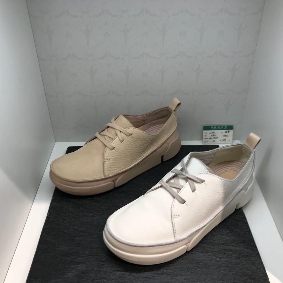 2020春季新款其乐代购休闲系带运动平底鞋小白鞋女单鞋 Tri Clara