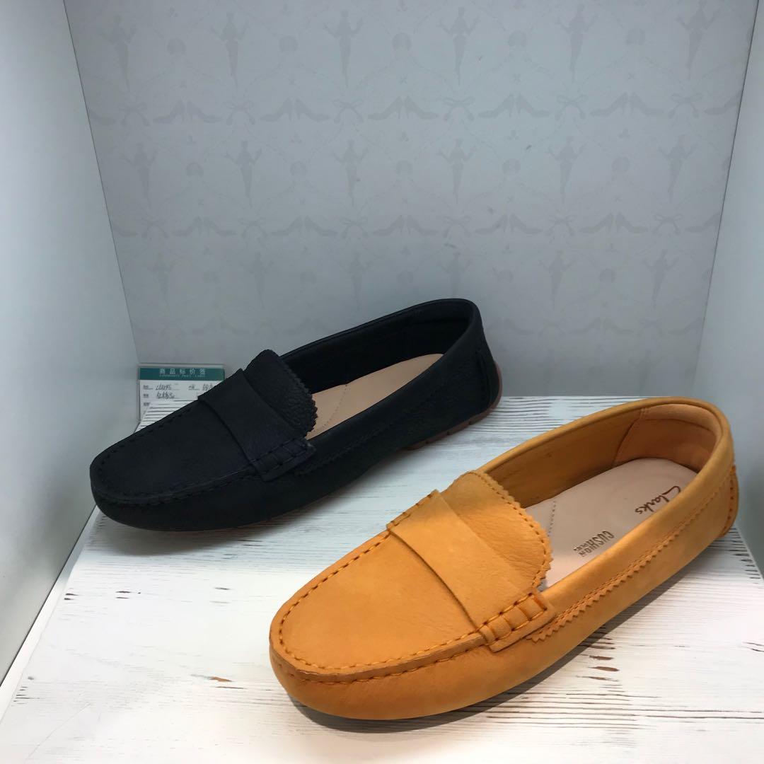 2020夏季新款其乐代购女鞋C Mocc英伦平底豆豆鞋女软底懒人单鞋