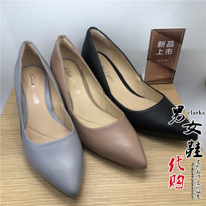 2020春季新款其乐代购女鞋Ellis Rose正装浅口细高跟女单鞋261389