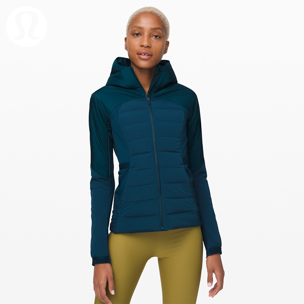 Lululemon down for it all women's sports jacket * down lw4aqjs