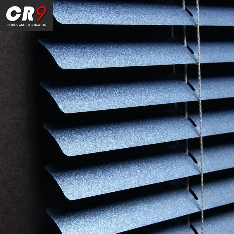 CR9百叶窗帘卷帘铝合金遮光 家用升降办公室防水浴室卫生间免打孔