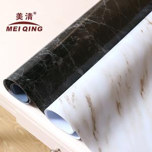 软玻璃ins桌布纯色北欧黑色大理石纹白色大理石桌布防水PVC桌垫