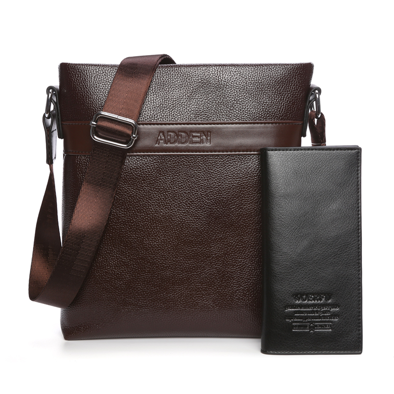 2019 new mens bag messenger bag leisure fashion single shoulder bag fashion mens business bag Korean soft leather all-around Backpack
