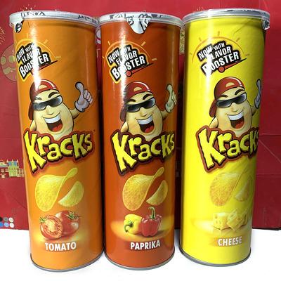 咖客嗞薯片原味/烧烤味/芥末味160g马来西亚进口零食膨化小吃特价