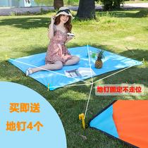 人可折叠野炊地垫85户外野餐垫防水防潮垫春游垫子便携加厚超轻