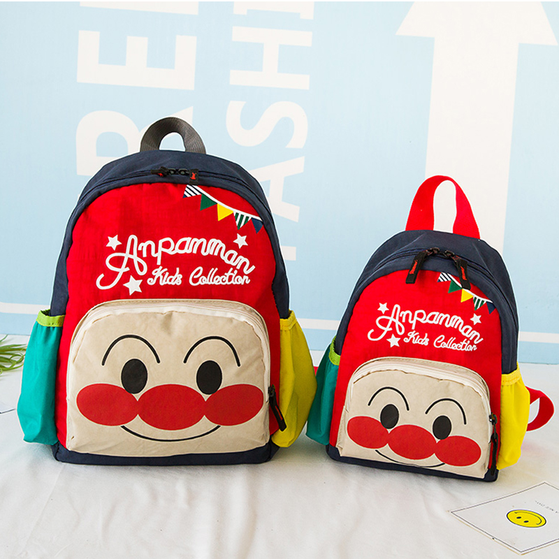 儿童书包可爱幼儿园3-4-6岁面包超人男宝宝卡通双肩背包学前女孩