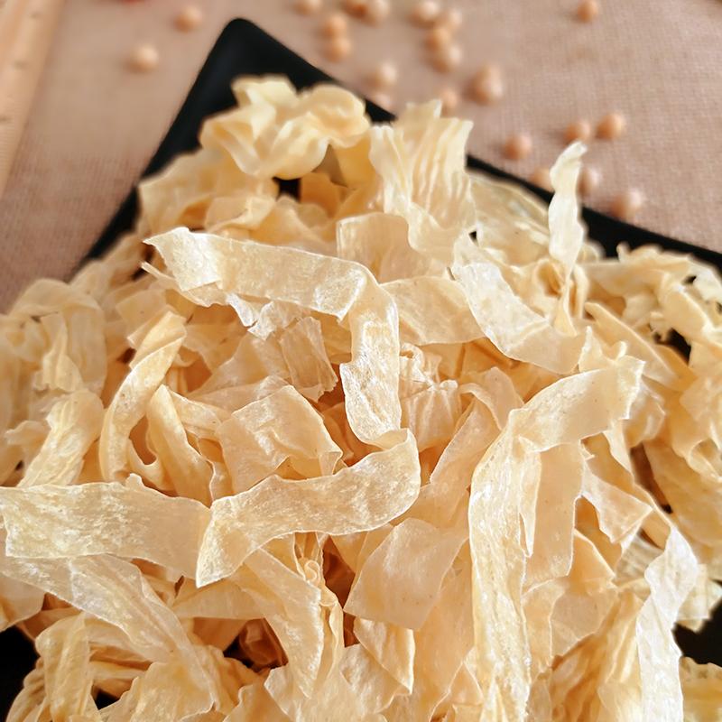 丝大豆蛋白素肉人造肉速食素油豆皮
