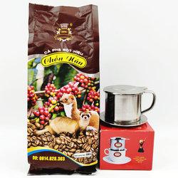 越南原装chon nau麝香猫屎咖啡粉500g/袋 滴漏壶咖啡 搭配滴漏壶