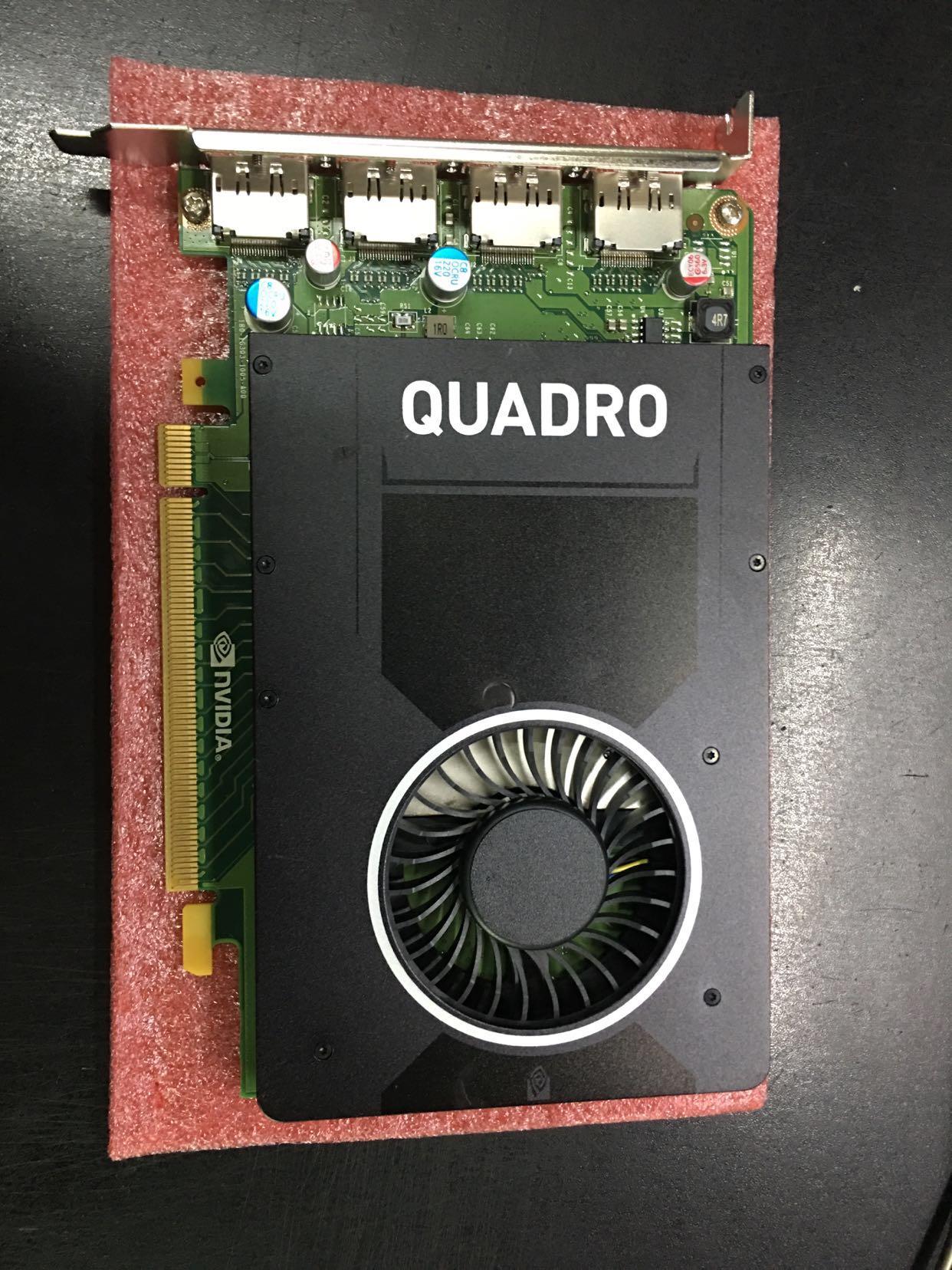 10-09新券惠普原装配件quadro m2000 4g显卡