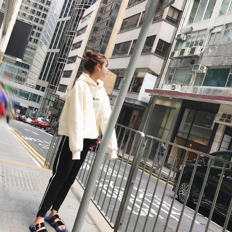 12-01新券2018秋冬新款小香风时髦衣服软妹酷
