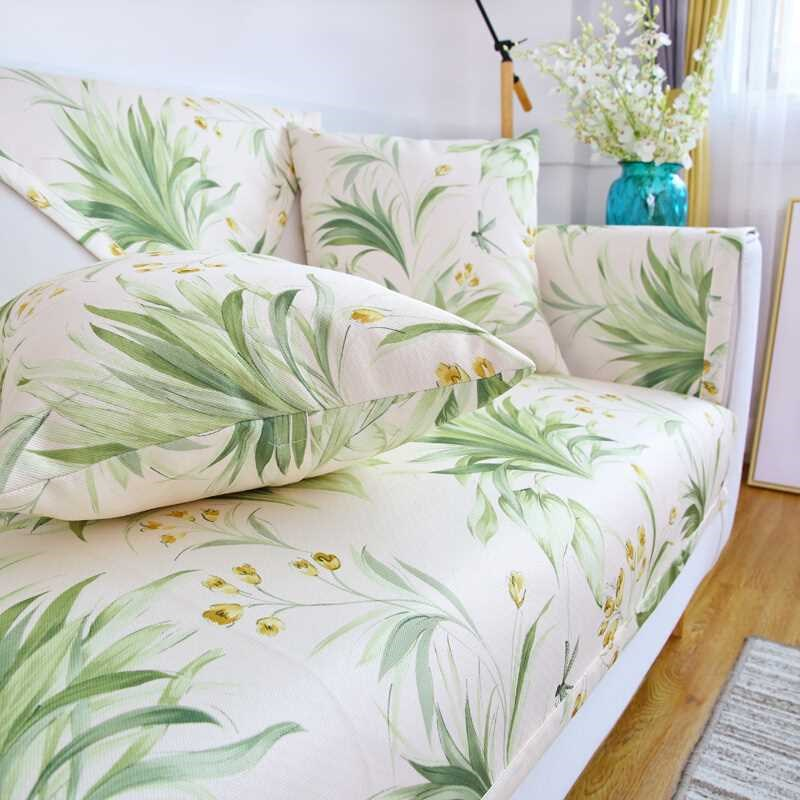 钟爱一生夏季沙发垫套装夏天沙发凉席坐垫子防滑沙发巾罩全包