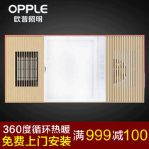 OP Lighting Five integrated ceiling wind warm bath bully embedded toilet bathroom heater JYLF66