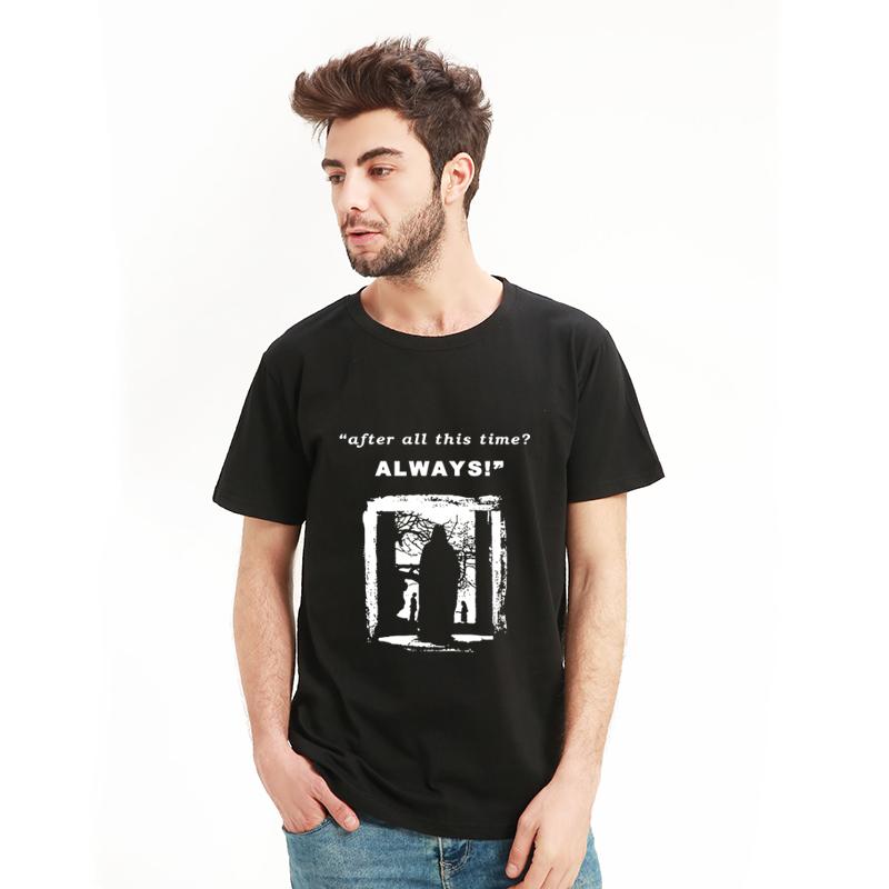 哈利波特斯内普教授T恤衫电影周边短袖哈迷疯子同款衣服赫敏半袖