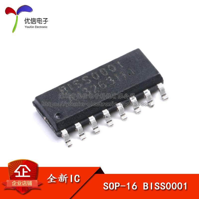 贴片 BISS0001 人体红外报警器专用芯片 SOP-16