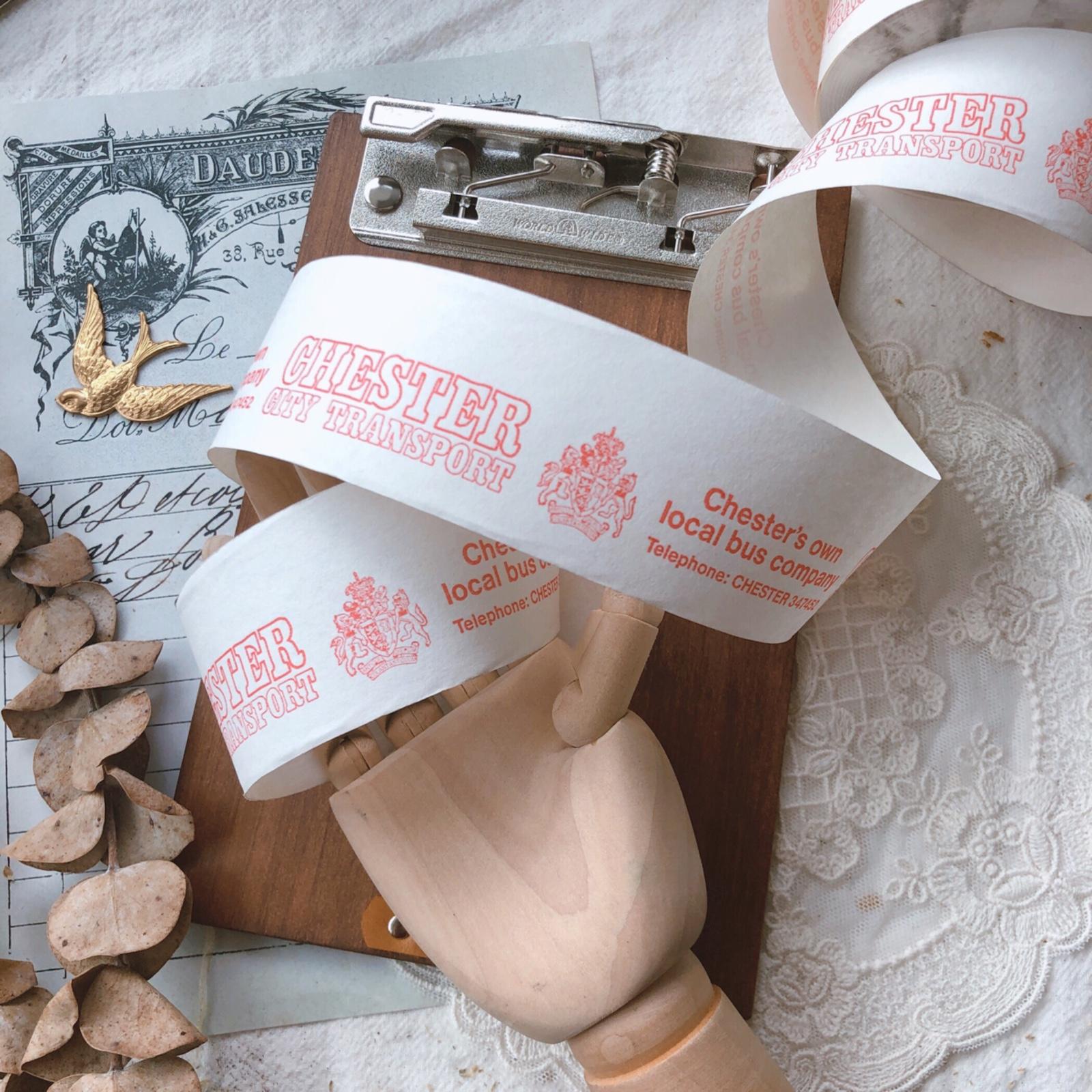 古董车票 | 英国 复古车票古董纸品junk journal手帐拼贴素材多款