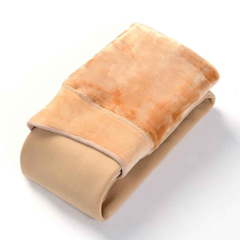 东北打底裤女特厚抗寒护腰40冬保暖加绒加厚超厚800克一体裤肤色