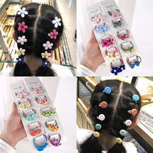 韩国儿童发饰宝宝可爱头绳发圈小号不伤发扎头发橡皮筋发绳头饰女