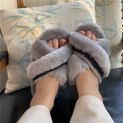 澳洲皮毛一体羊毛拖鞋ugg图片