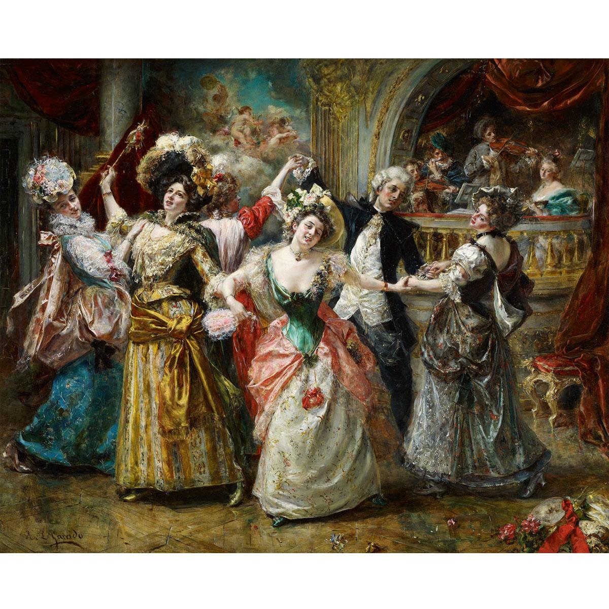 60-48图集世纪欧洲宫廷油画MH-B17-19#0925芯人物装饰画国外油画