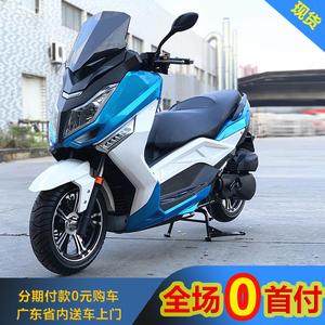 【0首付分期】马杰斯特T9大踏板摩托车街跑机车燃油助力整车T3T6