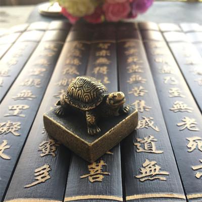 古玩杂项印章乌龟印章实物拍摄