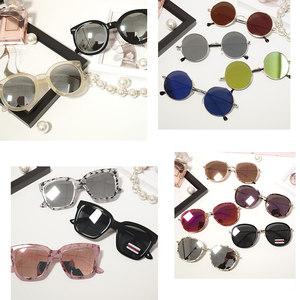 亏本特价清仓不退不换韩国进口豹纹大框男女士墨镜太阳眼镜反光镜