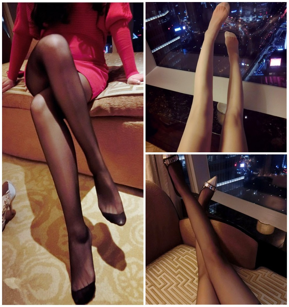 Thin Anti-Hook Silk Any Cut Stockings Bikini Rise  Super Ventilating Just Stockings  Can Repair Pantyhose JB0101