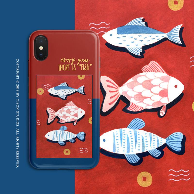 11ProMax华为P30/Mate20国潮苹果x手机壳iPhoneXs Max(非品牌)