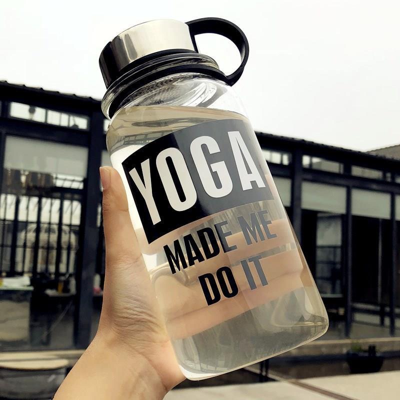 特大号家用办公室茶杯水杯女喝水1000毫升大容量玻璃水杯单层潮流