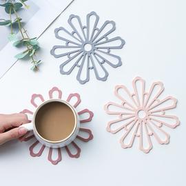 家用隔热餐桌垫子防烫创意日式防滑桌面盘子垫菜垫碗垫茶杯垫锅垫图片