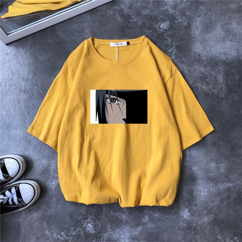 原创男士潮牌短袖T恤时尚潮流日系动漫印花韩版潮学生宽松男衣服