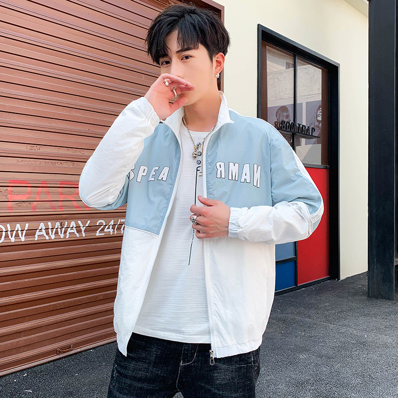 20 summer new clothes double-layer ultra-thin breathable fashion cool youth casual couple skin coat