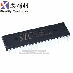 工业级 STC89C52RC-40I-PDIP40 原装8位单片机 51单片机