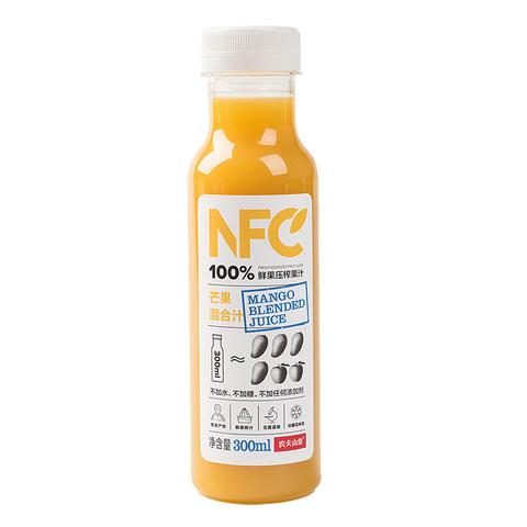 农夫山泉NFC芒果混合果汁 300ml/瓶