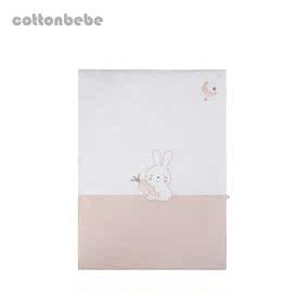 天然彩棉婴儿床被套小棉童cottonbebe婴童盖被宝宝床上用品-被罩