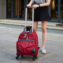 旅行包女手提轻便收纳韩版短途大容量出门网红旅游外出差行李包袋