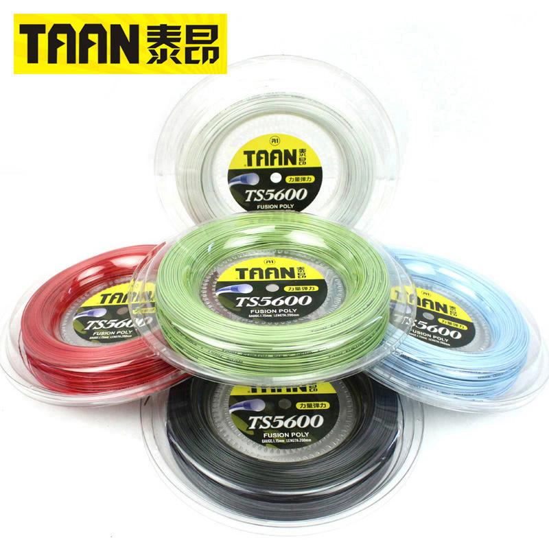TAAN тайский дорогой теннис линия сети ракетка линия блюдо линия эластичность полиэстер линия жесткий линия 200M 1.15mm TS5600