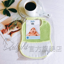 DMC Cross Stitch Baby bib RS2200-VERT Accessories Baby Products