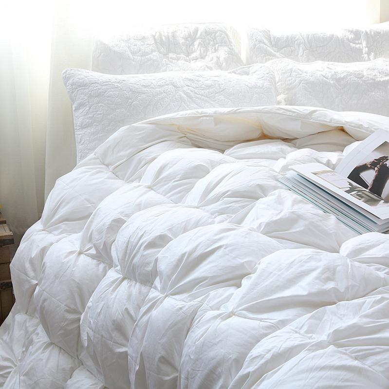 Хороший материал поделиться 890 европа 95% белый гусь вниз находятся осенне-зимний тёплый находятся ядро двуспальная кровать вниз одеяло