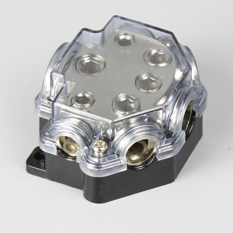 Car mounted music amplifier line five