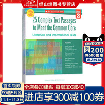 英文原版 25 Complex Text Passages to Meet the Common Coree 小学生练习册2-4年级 3册合售