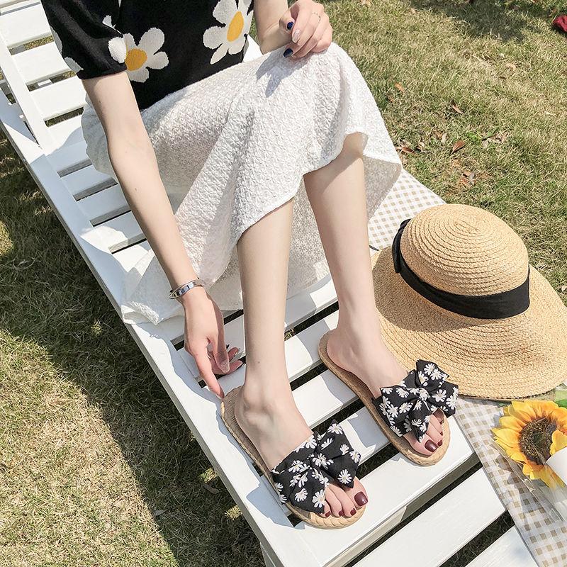夏季新款女凉拖鞋平底百搭休闲露趾罗马风女凉鞋仙女范拖鞋2020