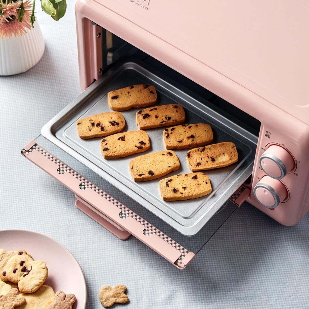 小熊電烤箱家用烘培多功能全自動小烤箱11升迷你烤箱控溫烘烤箱