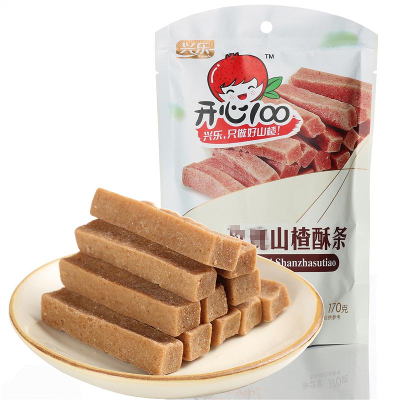 承德土特产 山楂酥条 红果酥 山楂条片 健康美食儿童开胃小吃170g