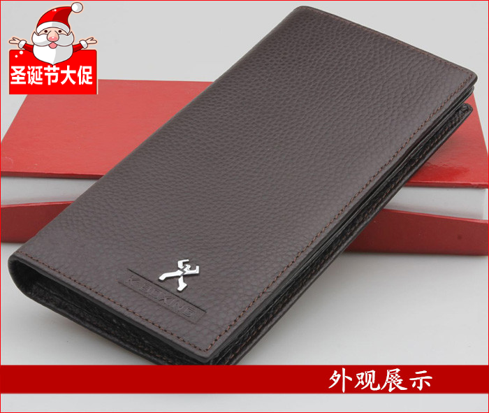 Jinba wallet mens and womens Long Wallet 2018 fashion business student wallet wallet trend