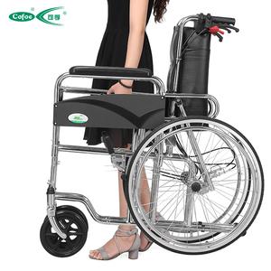 可孚轮椅带坐便折叠轻便便携老人手推车残疾人老年轮椅全躺代步车