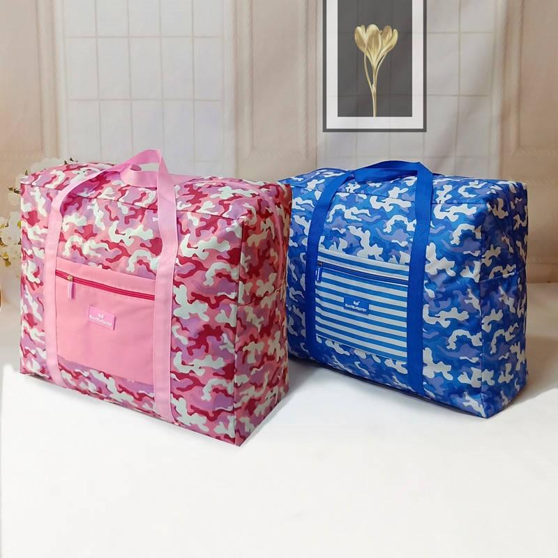 洗漱女士轻便运动包套杆行李包便携小型旅行衣物袋鞋子衣服双肩包