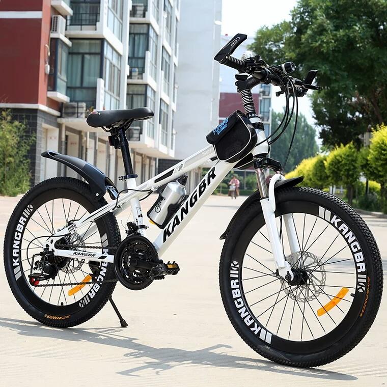 成人山地小学生自行车男女士单车青少年变速车减震双碟刹20-26寸